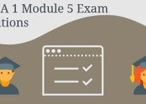 CCNA 1 Module 5 Exam Solutions