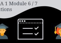CCNA 1 Module 6/7 Solutions