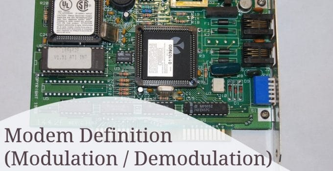 Modem (Modulation_Demodulation) Definition