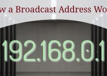How a Broadcast Address Works