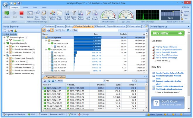 Capsa screenshot