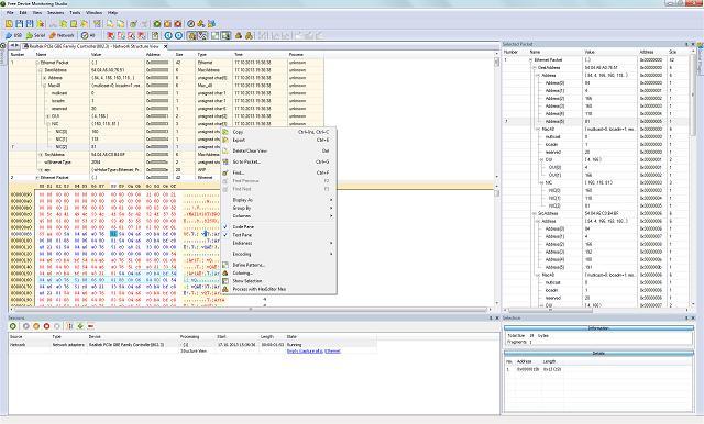 Free Network Analyzer screenshot