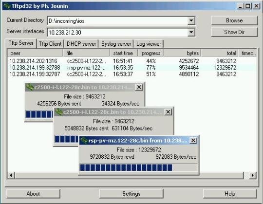 TFTPD32 Syslog Server