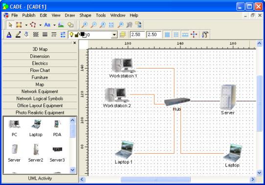 CADE screenshot