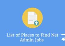 Find Net Admin Jobs