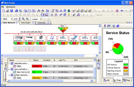 NetProbe Screenshot