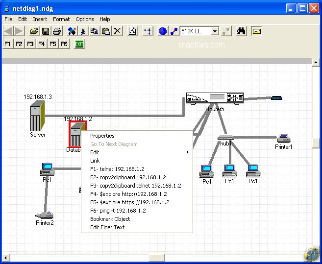 Network Notepad Screenshot