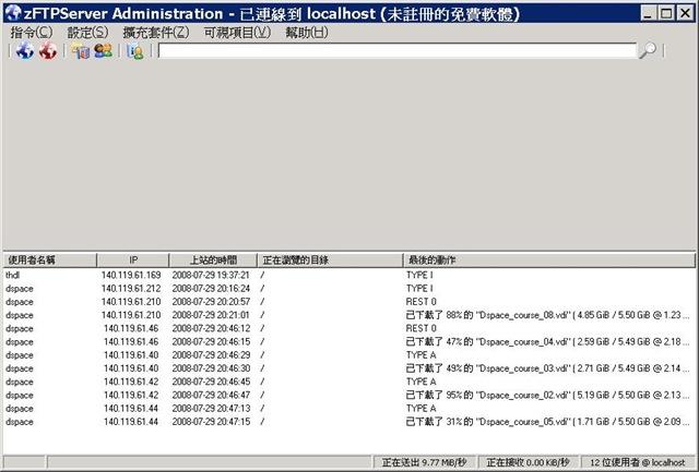 zFTP Server screenshot
