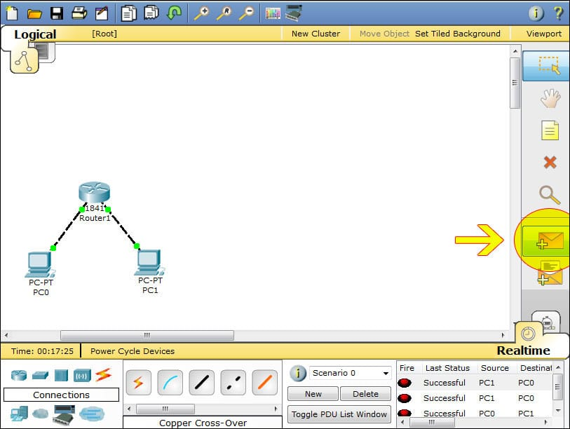 packet tracer packet icon