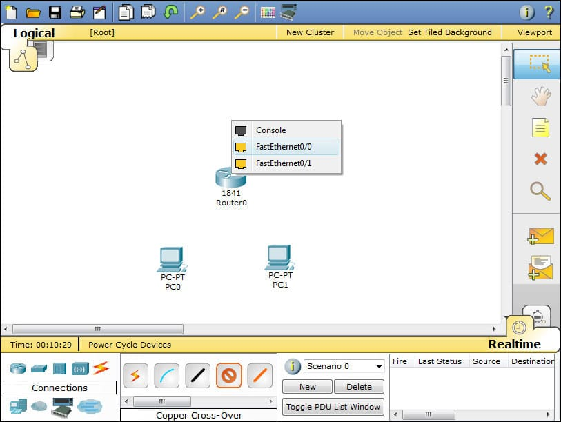 packet tracer screenshot 2