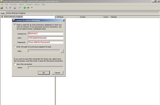 Active Directory Explorer