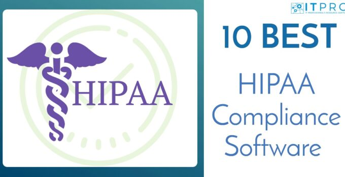 Best HIPAA Compliance Software