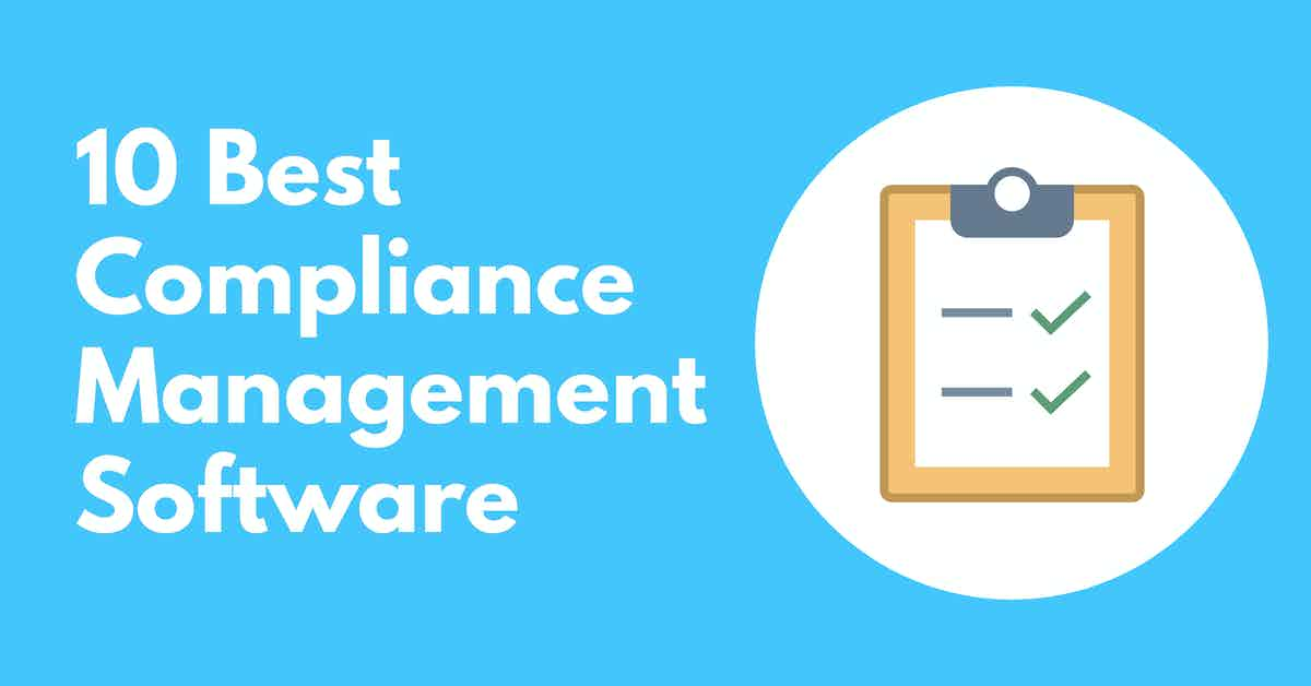 The Best Compliance Management Software