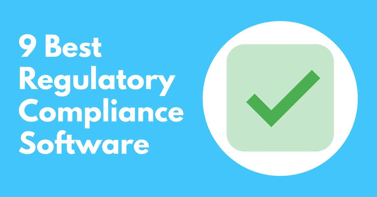 Regulatory Compliance Software
