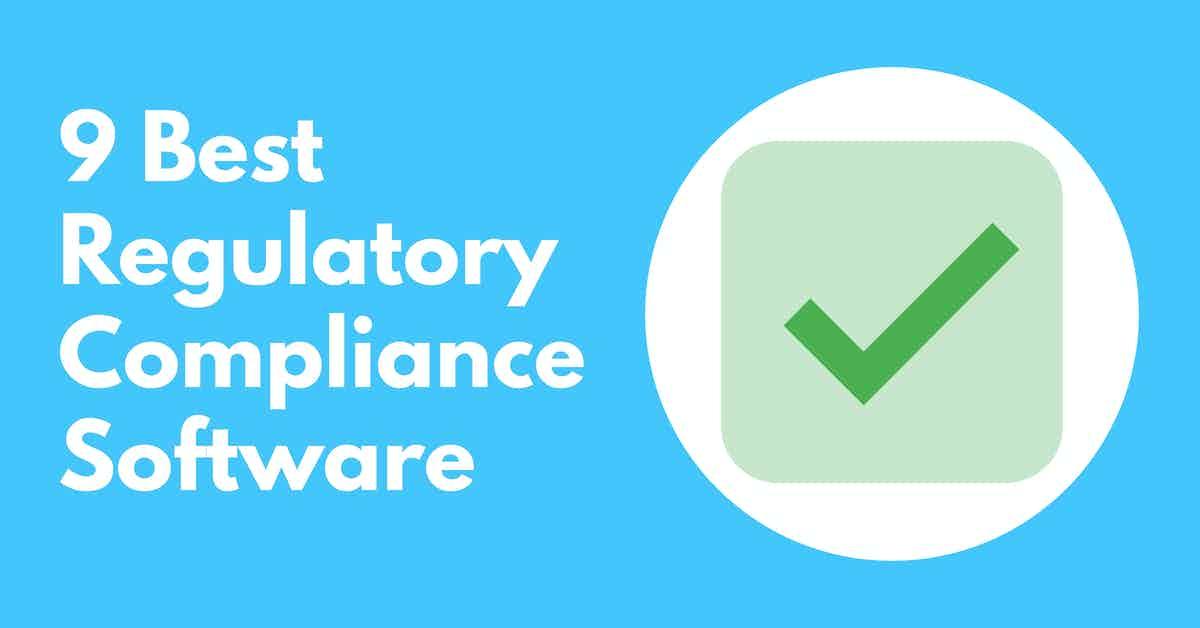 Regulatory Compliance Software