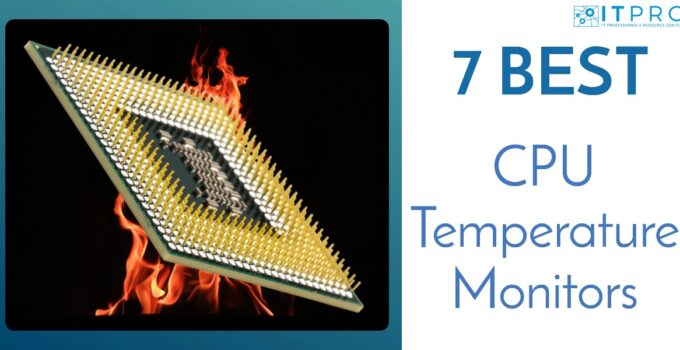 Best CPU Temperature Monitors