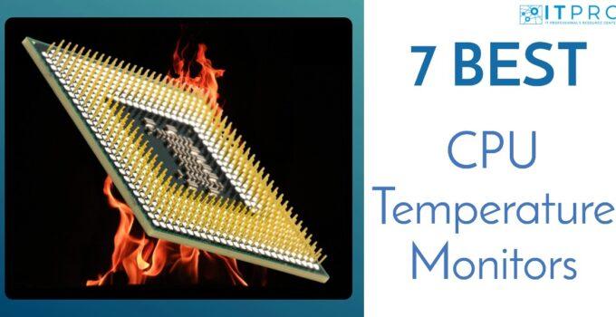 Best CPU Temperature Monitors