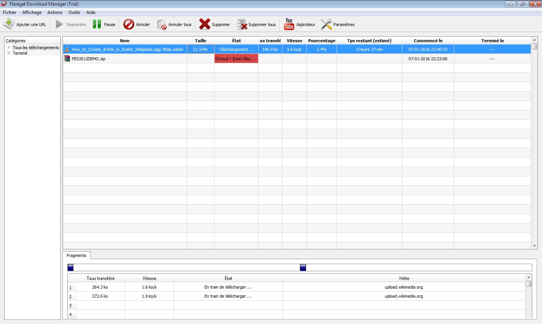 FlareGet download manager