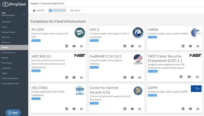 DivvyCloud for AWS compliance