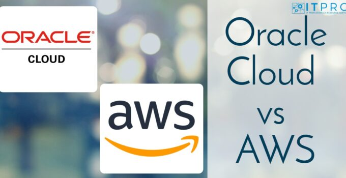 Oracle Cloud vs AWS