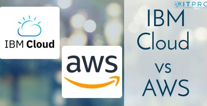 IBM Cloud vs AWS