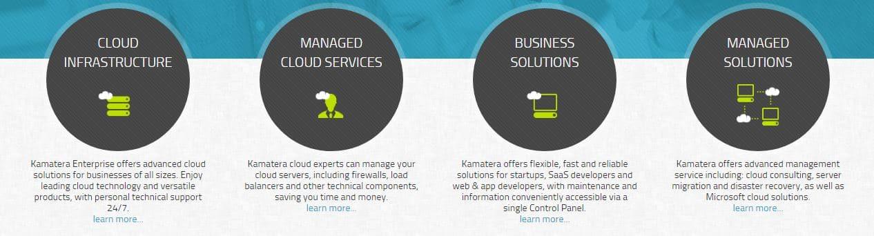 Kamatera cloud services